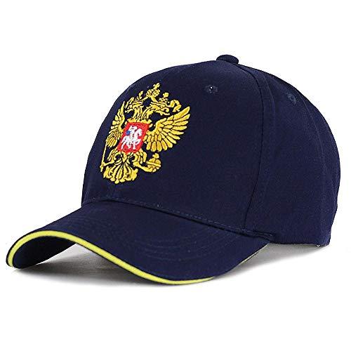 Gorra de Beisbol Buen BordadoUnisex 100% Algodón Gorra De Béisbol Emblema Ruso Bordado Snapback Sombreros De Moda para Hombres Y Mujeres Gorras Patriotas