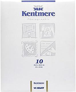 PAPEL FOTOGRÁFICO KENTMERE BRILHO VC 30X40 (10 FOLHAS)