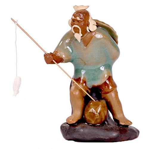 Bonsai - Figur, Angler, ca. 7 cm hoch 70512