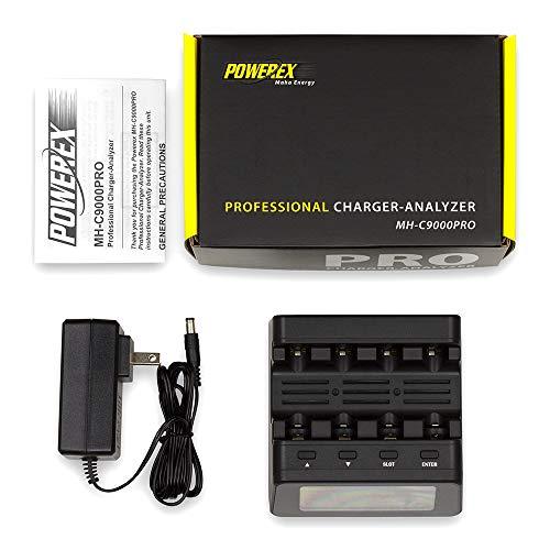 Powerex MH-C9000PRO Professional Charger-Analyzer