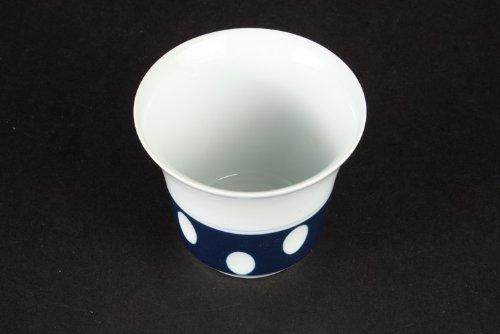 西海陶器 有田焼 中煎茶 水玉柄