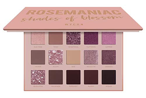 WYCON cosmetics ROSEMANIAC SHADE OF BLOSSOM palette ombretti