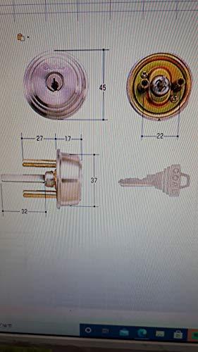GOAL(ゴール) 標準ピンシリンダー ADタイプ 鍵 交換 取替え テール刻印33.6 GCY-87 AD/GK/TDD