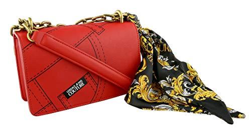 Versace Jeans Couture Scarf kedjehandtag liten väska (färg: Röd - storlek: En)