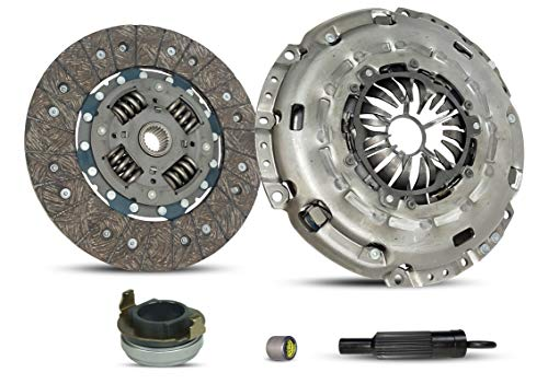 Embrague autoajustable Kit funciona con Mazda 3 Mazdaspeed 6 Hatchback Sedan 4 puertas 2006-2013 2.3L 2260CC L4 GAS DOHC Turbocharged 6 velocidades