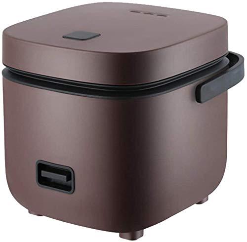 1.2L Mini de riz portable, cuisinière à riz électrique à la vapeur et panier de rinçage, antiadhésif, 15 minutes de cuisson rapide, réchauffant, garder au chaud, pour 2-4 personnes, vert