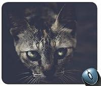 Black Cat 1マウスパッド滑り止めデスクトップマウスパッドゲーミングマウスパッド