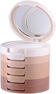Kit de maquillaje de 5 colores, contorneador e iluminador,