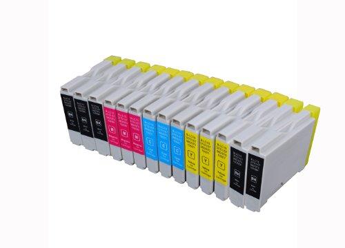 14 Multipack de alta capacidad Brother LC-1000 , LC-970 Cartuchos Compatibles 5 negro, 3 ciano, 3 magenta, 3 amarillo para Brother DCP-110C, DCP-115C, DCP-117C, DCP-120C, DCP-130C, DCP-135C, DCP-150C, DCP-153C, DCP-310CN, DCP-315CN, DCP-330C, DCP-340CW, DCP-350C, DCP-353C, DCP-357C, DCP-540CN, DCP-560CN, DCP-750CW, DCP-770CW, FAX-1355, FAX-1360, FAX-1460, FAX-1560, FAX-1835C, FAX-1840C, FAX-1940CN, FAX-2440C, HL-1230, HL-1430, HL-1440, HL-1450, HL-1470N, HL-1650, HL-1670N, HL-1850, HL-1870N, HL-2460, HL-7050, HL-7050N, MFC-210C, MFC-215C, MFC-235C, MFC-240C, MFC-260C, MFC-3240C, MFC-3340CN, MFC-3360C, MFC-410CN, MFC-425CN, MFC-440CN, MFC-465CN, MFC-5440CN, MFC-5460CN, MFC-5840CN, MFC-5860CN, MFC-620CN, MFC-640CW, MFC-660CN, MFC-680CN, MFC-820CW, MFC-845CW, MFC-885CW, MFC-885CW. Cartucho de tinta . LC-1000BK , LC-1000C , LC-1000M , LC-1000Y , LC-970BK , LC-970C , LC-970M , LC-970Y © 123 Cartucho