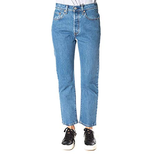 Levis 501 Crop Montgomery Patched 25 26