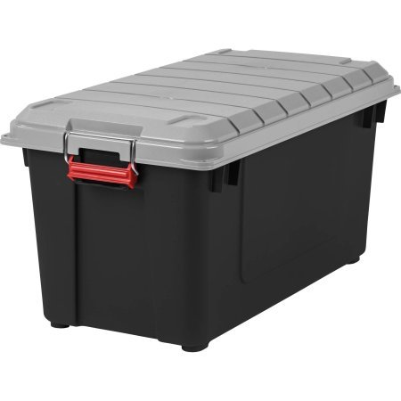 ..IRIS USA, Inc. 87 Qt. WEATHERTIGHT Store-It-All Plastic Storage Tote - 1 Pack
