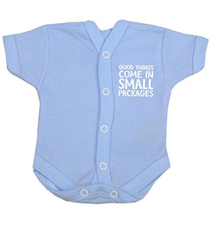 Babyprem Frühchen Baby Body NICU Neonatalen Jungen Kleidung 38-44cm BLAU PREM 2