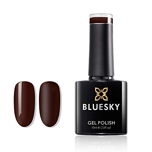 BLUESKY Roby Red Collection - Gel-Nagellack für glänzende und schöne Nägel | langer Halt von bis zu 3 Wochen (Bloodshot A039)