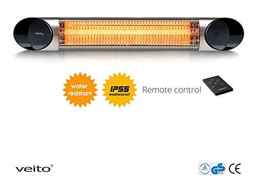 Veito Blade S2500 Wall mounted Outdoor Patio Heater