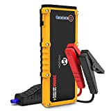 MOOCK 2000A Peak 12V Portable Car Jump Starter(up to 10L Gas or 7L Diesel Engine) Auto Battery Booster Power Pack with USB Quick Charge 3.0, Type-C Port, Built-in LED Light