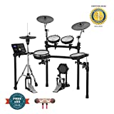 Roland TD-25K V-Drums 8-Piece Electronic Drumset with Drum Module includes Free Wireless Earbuds -...