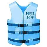 Texas Rec Super Soft Marina Blue Adult Xtra Small U.S. Coast Guard Approved Vests 34'
