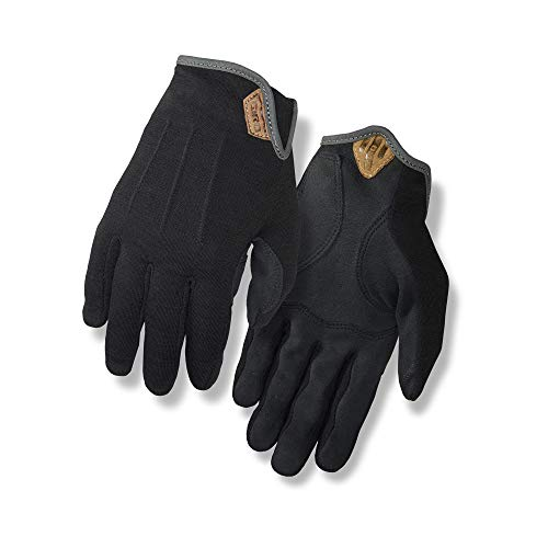 Giro D'Wool Men's Urban Cycling Gloves - Black (2021), Medium