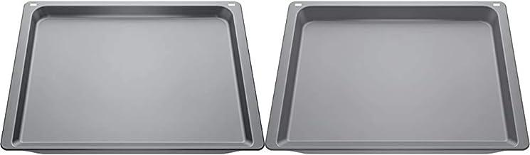 Neff Z11CB10E0 Backblech Backofen-Kochfeld-Kombination / Grau & Z11CU10E0 Universalpfanne Backofen-Kochfeld-Kombination / Grau