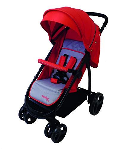 Asalvo - Silla de paseo Lider, Color Rojo