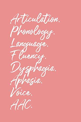 Speech Pathology Notebook: SLP Notebook | Speech Therapist Scope of Practice Journal, Speech Language Pathology Gifts, Best Speech Therapist, Perfect SLP Gift For Notes | 6x9 College Ruled Book