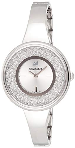 Swarovski Crystalline Pure Uhr, Metallarmband, weiss, Edelstahl