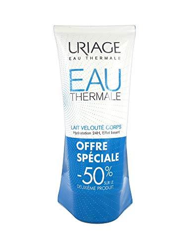 Uriage - Leche aterciopelada para cuerpo (2 unidades de 200 ml)