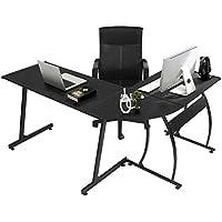 GreenForest L Shaped Gaming Computer Desk