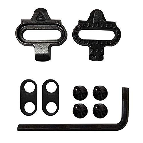 Hainice Bicicleta de Grapas del Conjunto, Compatible con Look Delta Pedales, Pedal...