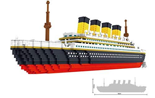 SMACO Grande Titanic Model Building Block Set - 3800 + Pezzi Nano Mini Blocchi Giocattoli Fai da Te Regalo Decorazione Creativa Casa