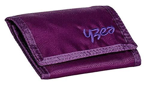YZEA Wallet Geldbörse Kettenbörse Aubergine