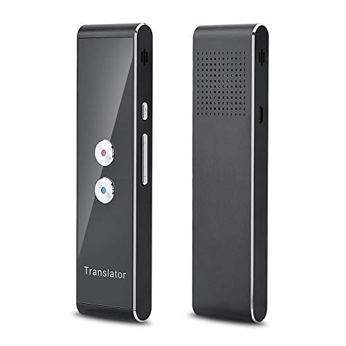 Tonysa Instant Translator, Bluetooth 2.4G Smart Portable Interpreter Intelligent Real Time Speech Voice Translator for Travelling, Business, and Meeting