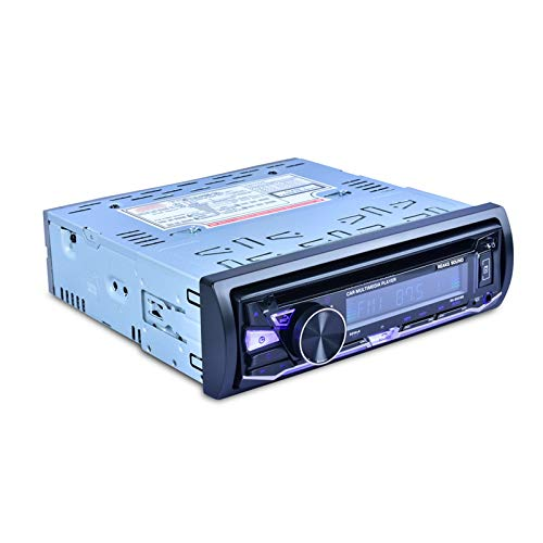 Youmine 1 DIN Coche DVD VCD Reproductor de CD MP3 MP4 FM Am Audio Radio Reproductor USB 45WX4 Canal