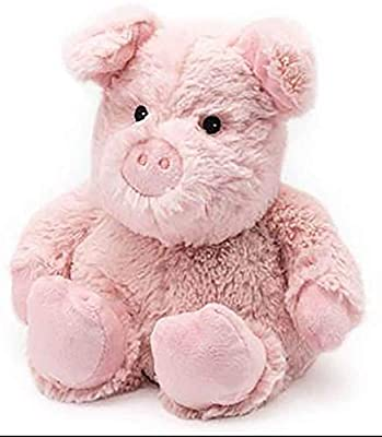 Pig - WARMIES Cozy Plush Heatable Lavender Scented Stuffed Animal from INTELEX