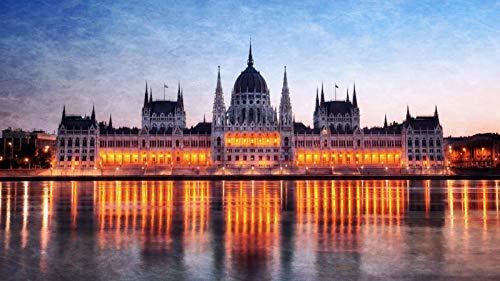 Descompresión Para Adultos 1000 Piezas Hungría Budapest Edificio Del Parlamento Montaje De Madera Decoración Para El Hogar Juego De Juguetes Juguete Educativo Para Niños Y Adultos Regalo