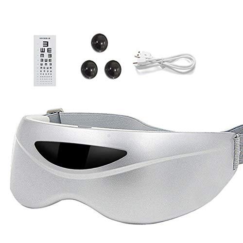 ZCPDP Magneet Eye Massager Acupunctuur Infrarood voor het verwijderen van vermoeidheid bij 360 ° DOT Matrix oplader, draagbaar voor Miopia meting