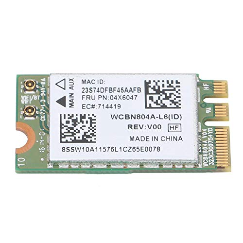 Kafuty 5G Dual Band Wireless Network Card for Qualcomm Atheros QCNFA34AC 867M Bluetooth 4.0 Network Card Fit for Lenovo B50-80 E460 E560 Yoga 500 Series