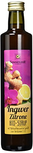 Sonnentor Ingwer-Zitronen-Sirup, 1er Pack (1 x 500 ml) - Bio