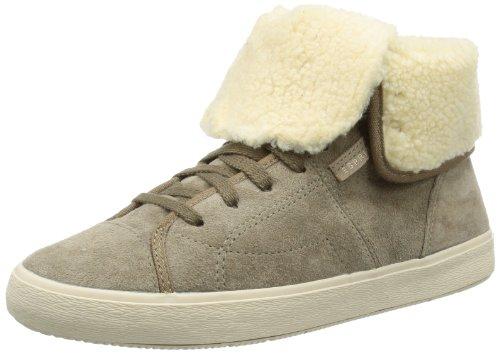 ESPRIT Anuka Bootie 103EK1W018, Damen Sneaker, Beige (fossil beige 926), EU 40