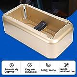 Shanbor Dispenser di Copri Scarpe USA e Getta in plastica Resistente all'Acqua Durevole, Copri Stivali per Ufficio Aula per Negozio di casa