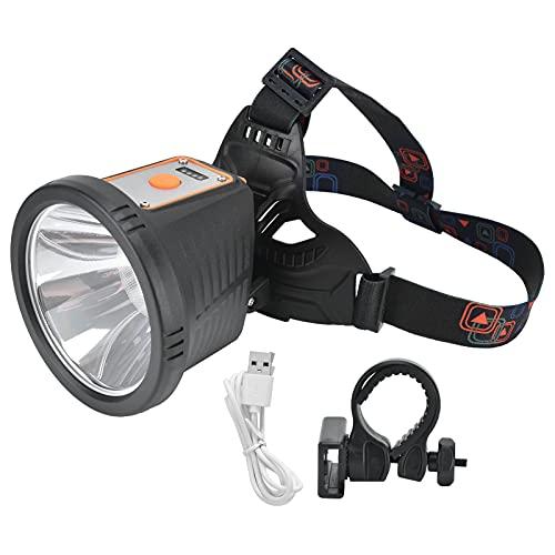 RUIRUIY Faro P50 Fuerte 2000LM multifunción Impermeable Carga USB Faro LED para Senderismo Camping