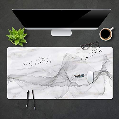 ZHANGBAOWEN muismat, modern toetsenbord, laptop, kussen, bureau, mat, gamer, muismat, mat, groot bureau, computer, bureau mat