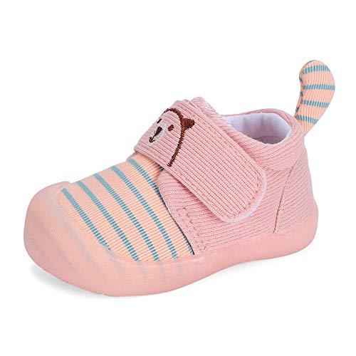 MK MATT KEELY Sneaker Bambino Scarpe Primi Passi Scarpe da Antiscivolo con Coda Carina Unisex-Bimbi