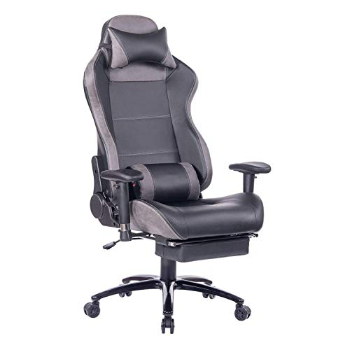 HEALGEN Massage Gaming Chair Office Chair with Heavy Duty Metal Base,Reclining High Back PU Leather...