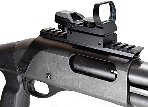 Buy TRINITY Sight Base Rail Mount with Red Green 4 Reticle Reflex Sight for NEF H&r1871 Pardner Pump...
