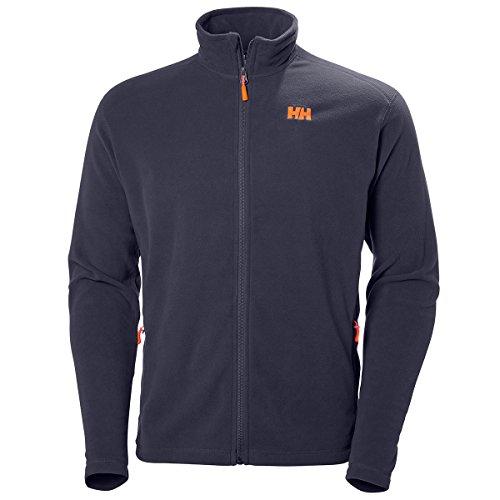 Helly Hansen Daybreaker Fleece Jacket Chaqueta con Forro Polar para Hombres, con tecnología Polartec y diseñada para Cualquier Actividad Casual o Deportiva, Azul (Graphite Blue), L