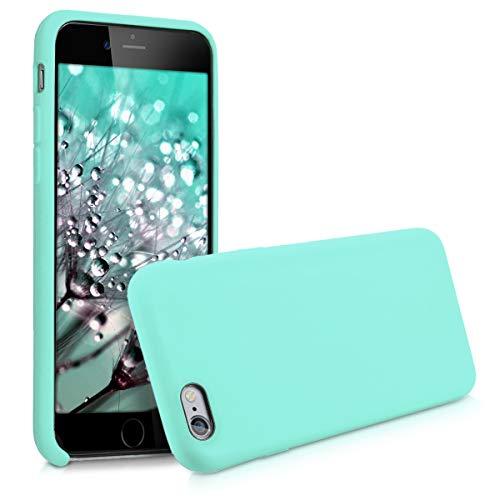 kwmobile Cover per Apple iPhone 6 / 6S - Cover Custodia in Silicone TPU - Back Case Protezione Cellulare Menta