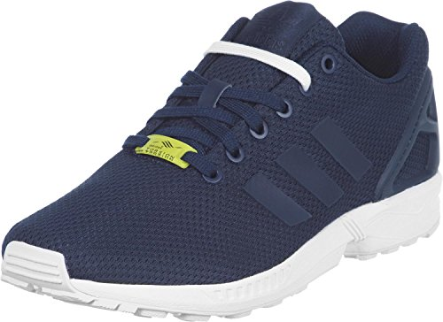 adidas ZX Flux Unisex-Erwachsene Laufschuhe, Blau (New Navy/New Navy/Running White), 44 EU
