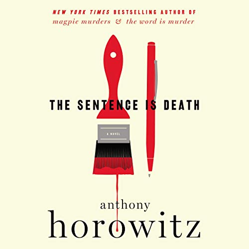 The Sentence Is Death audiobook cover art