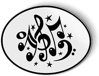 AK Wall Art Musical Notes - Magnet - Car Fridge Locker - Select Size